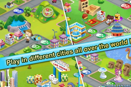 Richman 4 Fun v2.2.1 (Ad-Free/Unlocked) Apk