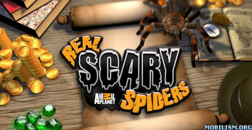 Real Scary Spiders v1.3.3 (Unlimited Gold/Gems)