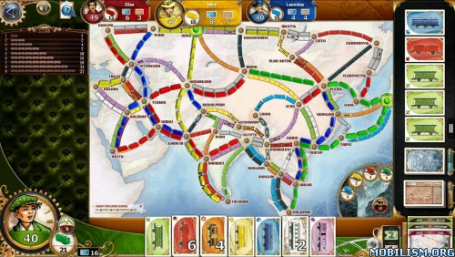 Ticket to Ride v2.0.13-3673-ce4e7117 [Unlocked] Apk