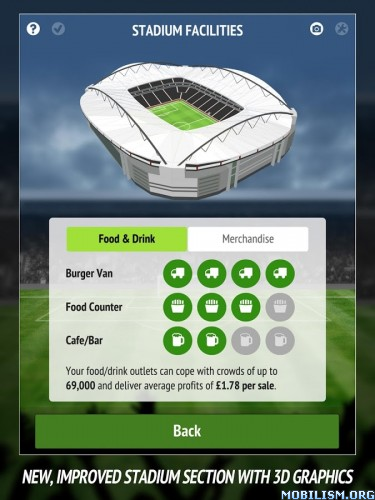 Football Chairman Pro v1.0.9 [Mod Money] Apk