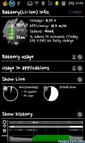 Battery Widget Apk v2.6.5