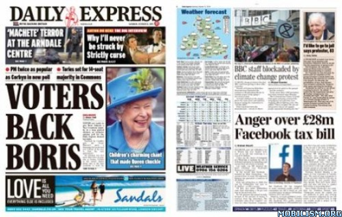 Daily Express – October 12, 2019