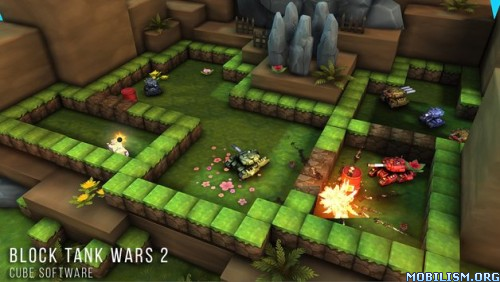 Block Tank Wars 2 (Premium) v2.3 (Mod Money/Skills) Apk