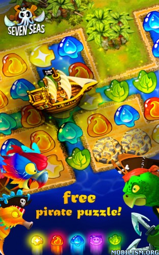 7 Seas v1.0.8 [Mod Money] Apk