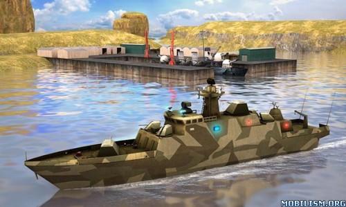 Secret Stealth Warship Combat v1.1 (Mod Money) Apk