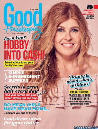 Download ebook Good Housekeeping South Africa - July 2017 (.PDF)