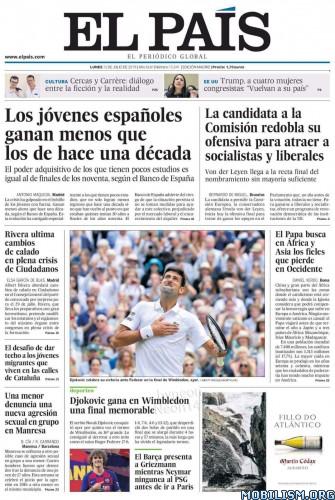El País – 15 July, 2019 [ESP]