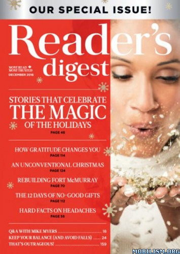 Download ebook Reader's Digest - December 2016 / Canada (.PDF)