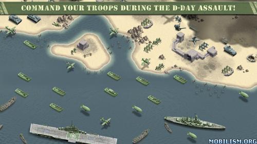 1944 Burning Bridges v1.0.9 (Mod Money/Ad-Free) Apk