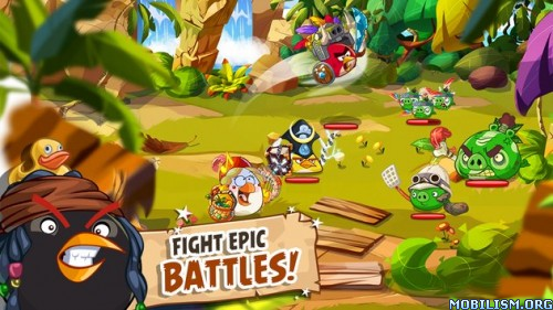 Angry Birds Epic v1.4.0 [Mod Money] Apk