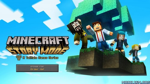 Minecraft: Story Mode v1.26 [Unlocked] Apk