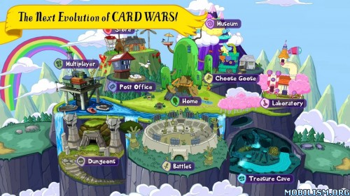 Card Wars Kingdom v1.0.5 [Mod Money] Apk