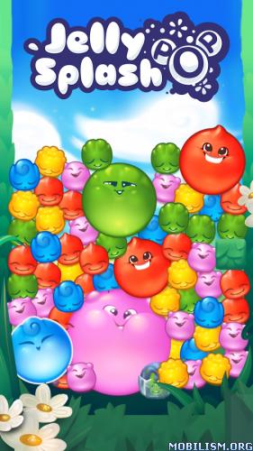 Jelly Splash Pop v1.14.4 (Mod) Apk