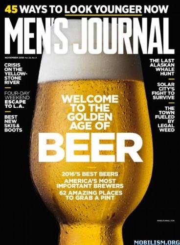 Download ebook Men's Journal - November 2016 (.PDF)
