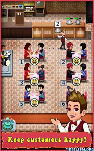 Restaurant Tycoon v3.5 [Mod Money] Apk