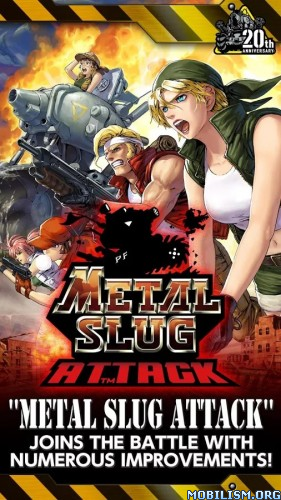 METAL SLUG ATTACK v1.12.1 [Infinite AP] Apk