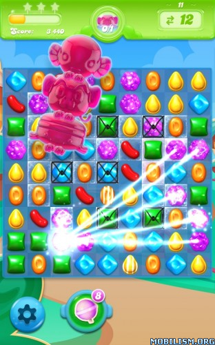 Candy Crush Jelly Saga v1.11.5 [Mods] Apk