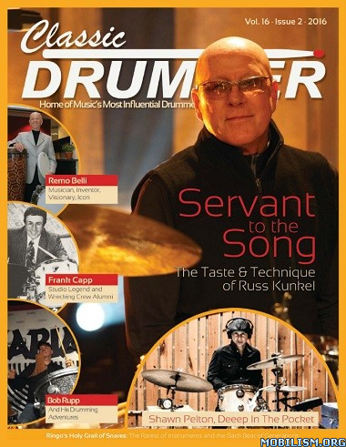 Download ebook Classic Drummer - Vol.16 Issue 2 2016 (.PDF)