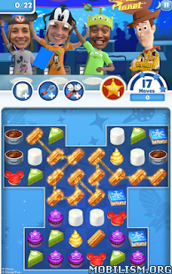 Dream Treats - Match Sweets v1.3.8 (Mod Lives/Moves/Gold)