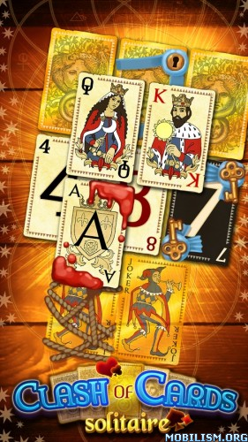 Clash of Cards: Solitaire v1.3 [Mod Money/Lives/Premium] Apk