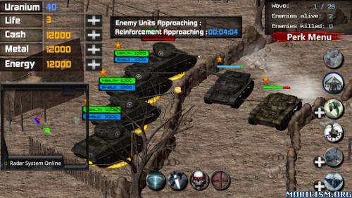 Battleship : Desert Storm 3 v1 (Mod Life/Cash/Metal/Energy) Apk