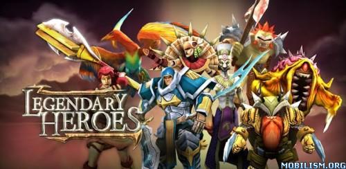 Legendary Heroes v2.0.6 (Unlimited Gold & Crystals)