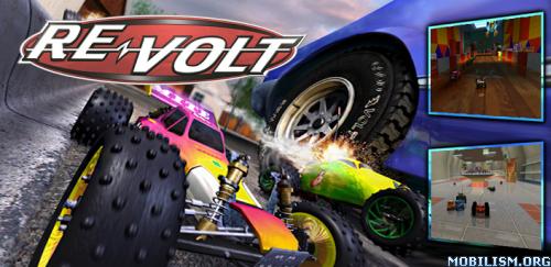 RE-VOLT Classic 3D (Premium) v1.2.8 (Unlocked) Apk