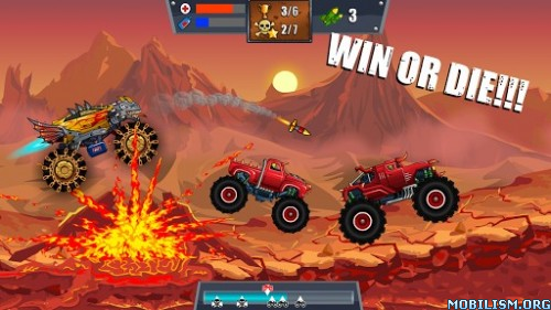Mad Truck Challenge - Racing v2.1 (Mod Money/Gas) Apk