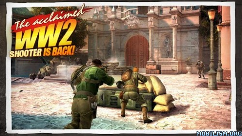 Brothers in Arms 3 v1.4.2p (Mod) Apk