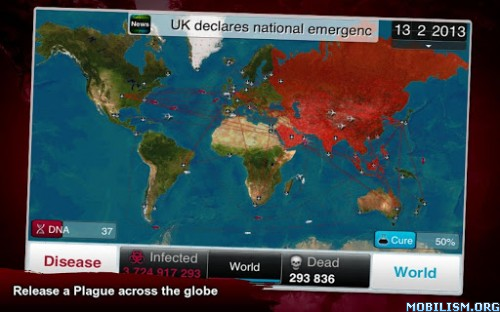 Plague Inc. v1.11.4 [All Unlocked] Apk