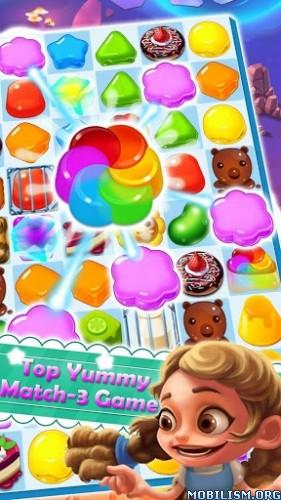 Yummy Crush Mania v1.0.8 [Mod Money] Apk