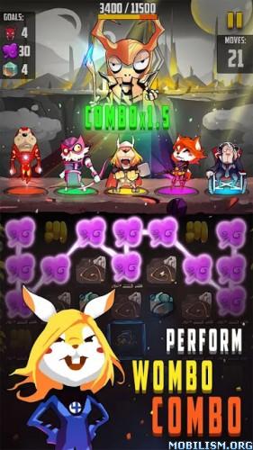 Petvengers: Super Hero Puzzle v1.1.1 [Mod] Apk