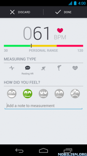 Software Releases • Runtastic Heart Rate PRO v1.2.3