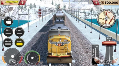 Train Simulator 2016 HD v1.0.1 + Mod Money Apk