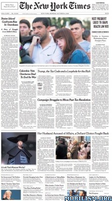 Download ebook The New York Times – 03 October 2016 / USA (.PDF)