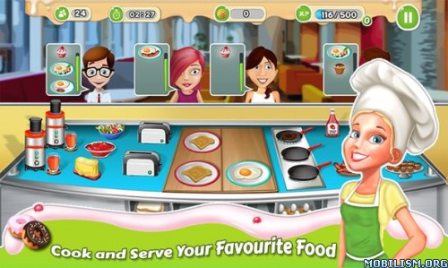 Breakfast Cooking Mania v1.10 (Mod Money/Ad-Free) Apk