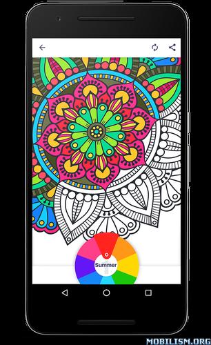 Coloring Book For Me Mandala V17 Premium