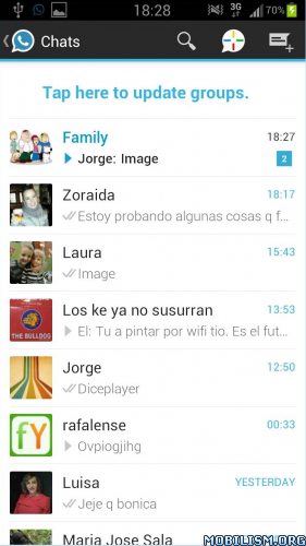 WhatsApp+ v5.30D (MOD version)