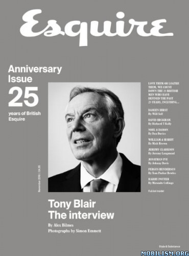 Download ebook Esquire UK - November 2016 (.PDF)