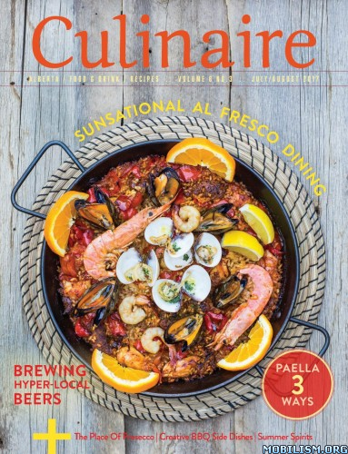 Download ebook Culinaire Magazine - July/August 2017 (.PDF)