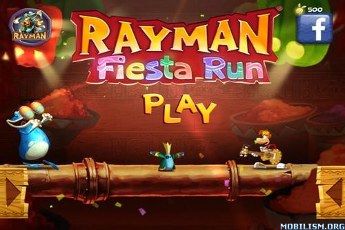 Rayman Fiesta Run v1.2.8 + (Mod Money/Unlocked) Apk
