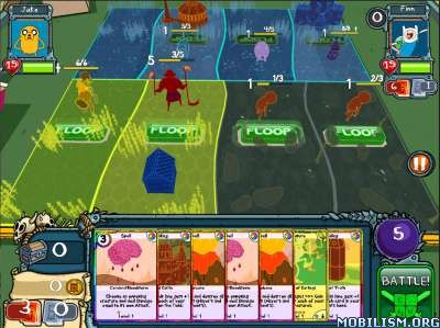 Card Wars - Adventure Time v1.7.0 [Mod Money/Unlock] Apk