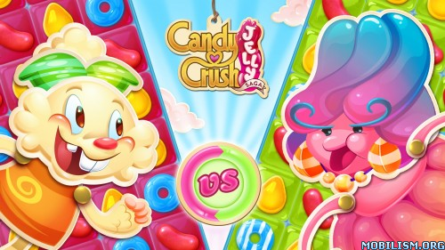 Candy Crush Jelly Saga v1.26.1 (Mods) Apk