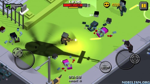 Cube Zombie War v1.2.2 (Mod Money) Apk