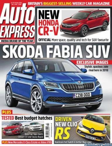 Download ebook Auto Express - 19 October 2016 (.PDF)