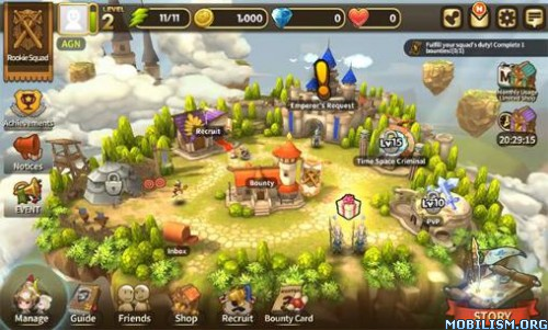 Quest RPG HEROES WANTED v1.1.0.24161 [Mods] Apk