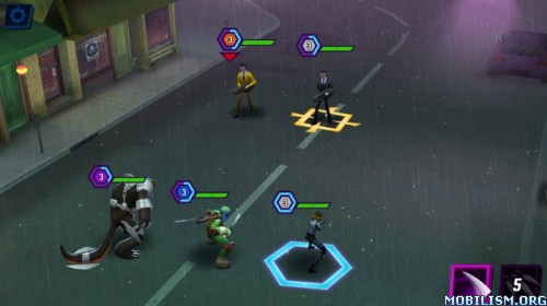 Ninja Turtles: Legends v1.4.14 [Mod Money] Apk