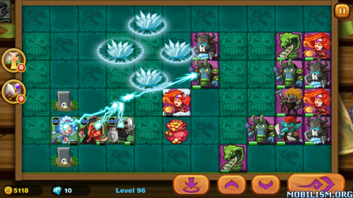 Cards Wars:Heroic Age HD v2.4 [Mod Money]