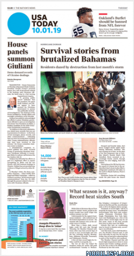 USA Today – 01 October 2019