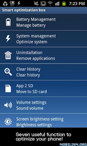Smart Optimization Box Apk v1.6.87